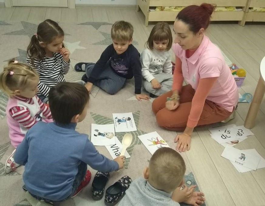 Розвиваючі заняття англійською мовою «Kids' English»